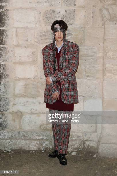 Kai attends the Gucci Cruise 2019 show at Alyscamps on May 30 2018 in Arles France