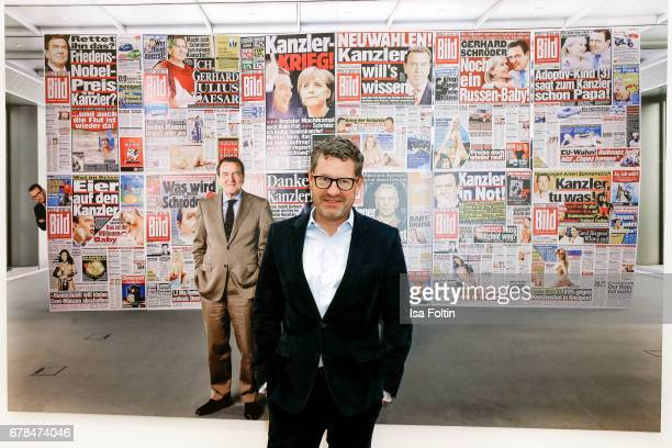 Kai Diekmann during the 'FotoKunstBoulevard' exhhibition opening at MartinGropiusBau on May 4 2017 in Berlin Germany