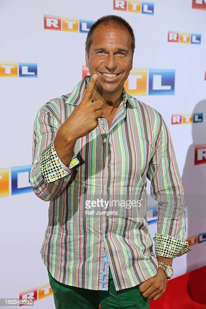 Kai Ebel attends the RTL Programm press conference Season 2012/13 on August 16 2012 in Cologne Germany