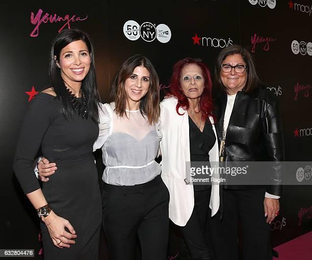 Kai Falkenberg Jacqueline Demeterio Patricia Field and Fern Mallis attend the Macy's CelebratesThe 50th Anniversary Of The Mayor's Office Of Media...