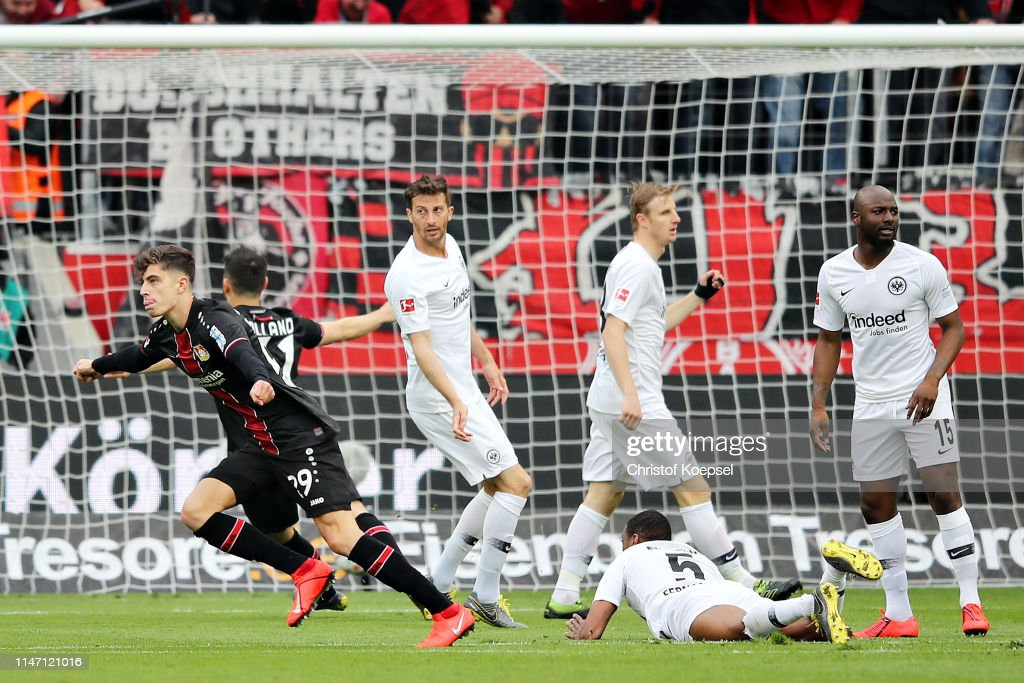 DEU: Bayer 04 Leverkusen v Eintracht Frankfurt - Bundesliga