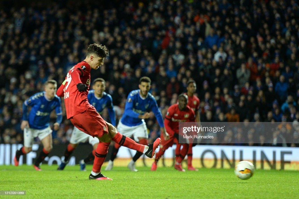 Rangers FC v Bayer 04 Leverkusen - UEFA Europa League Round of 16: First Leg : News Photo