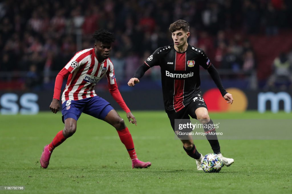 Atletico Madrid v Bayer Leverkusen: Group D - UEFA Champions League : News Photo