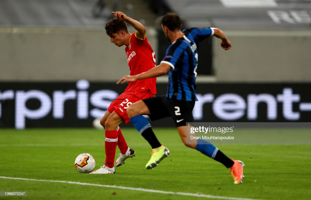 FC Internazionale v Bayer 04 Leverkusen - UEFA Europa League Quarter Final : News Photo
