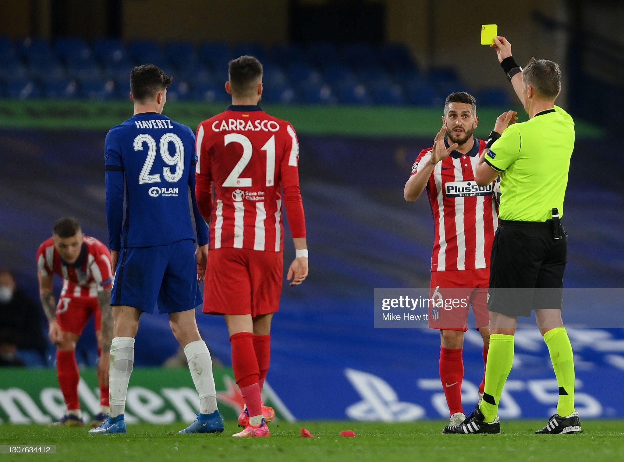 Chelsea FC v Atletico Madrid  - UEFA Champions League Round Of 16 Leg Two : News Photo