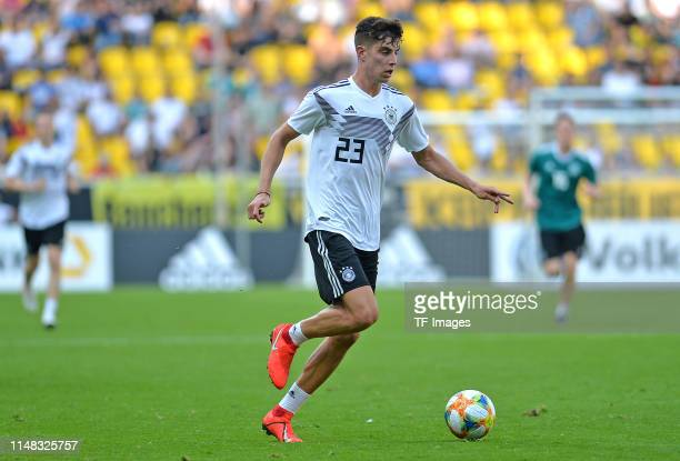 Kai Havertz of Germany controls the ball during the Germany internal test match at Tivoli Stadium on June 05 2019 in Aachen Germany