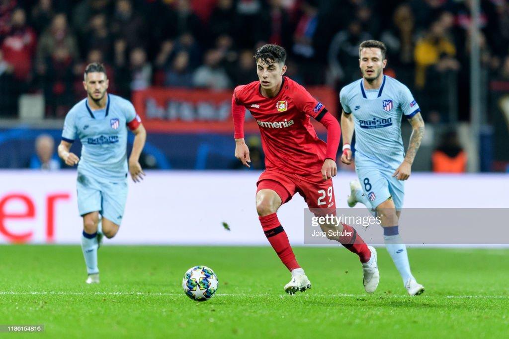 Bayer Leverkusen v Atletico Madrid: Group D - UEFA Champions League : News Photo