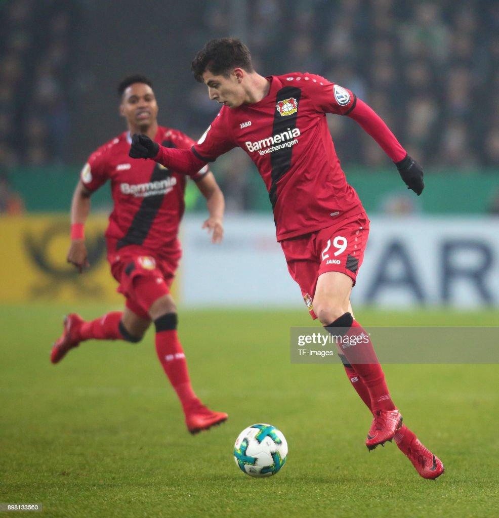 Borussia Moenchengladbach v Bayer Leverkusen - DFB Cup : News Photo