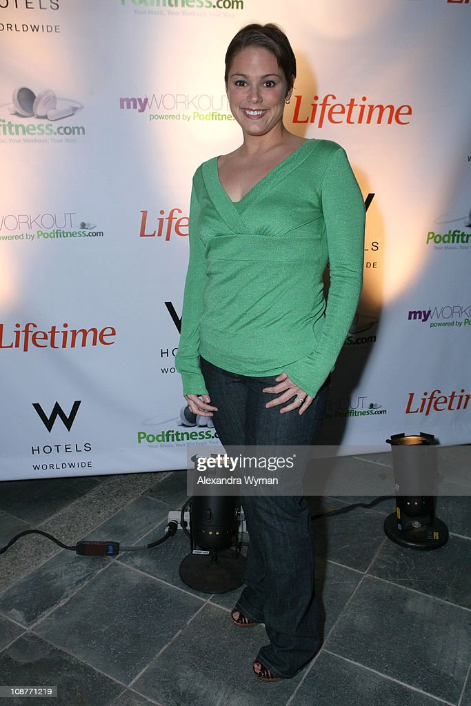 """Lifetime Television, The W Hotels and Podfitness.com Present the TV Launch Party for """"My Workout... Powered by Podfitnes"""" : News Photo"""