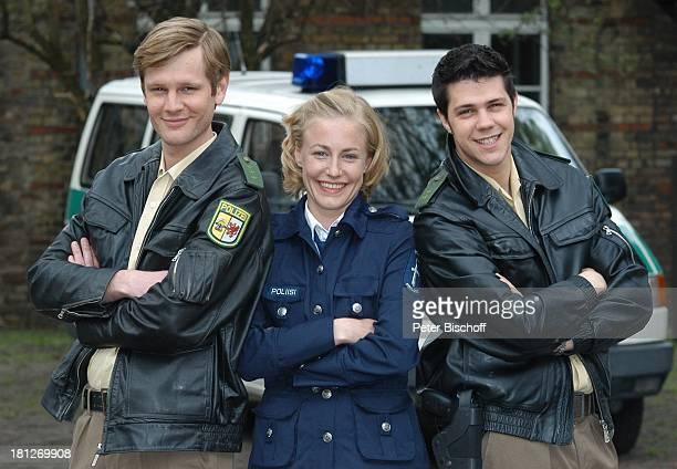 """Kai Ivo Baulitz, Li Hagman, Bjoern Kirschniok, , ZDF-Serie """" SOKO Wismar """", ,"""