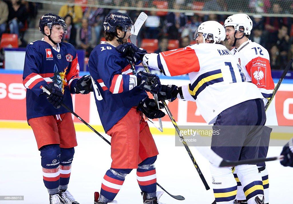 Grenoble v Espoo Blues - Champions Hockey League : News Photo