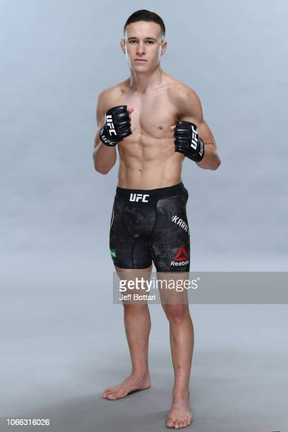 Kai Kara France of New Zealand poses for a portrait during a UFC photo session on November 29 2018 in Adelaide Australia