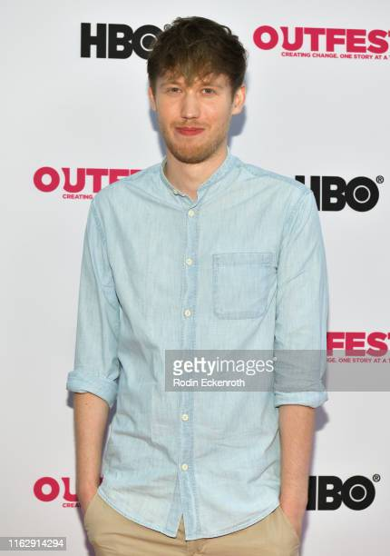 Kai Kreuser attends the Outfest Los Angeles LGBTQ Film Festival Opening Night Gala premiere of Circus Of Books at Orpheum Theatre on July 18 2019 in...