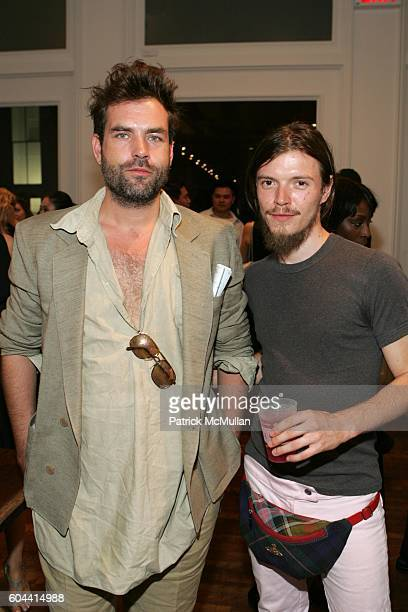 Kai Kuhne and Nick Routsis attend The Boutique Opening of Space Mercer at Space Mercer on August 23 2006 in New York City