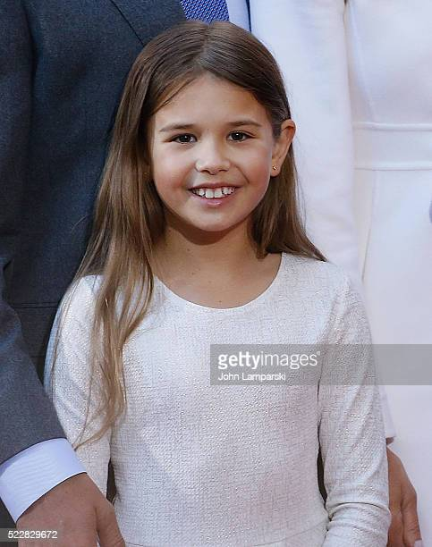 Kai Madison Trump attends NBC's 'Today' Trump Town Hall at Rockefeller Plaza on April 21 2016 in New York City
