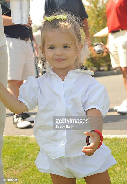 Kai Madison Trump attends the 3rd annual Eric Trump Foundation Golf Invitational at the Trump National Golf Club Westchester on September 15 2009 in...