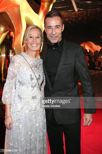 Kai Pflaume and his wife Ilke Pflaume during the 71tst Bambi Awards at Festspielhaus BadenBaden on November 21 2019 in BadenBaden Germany