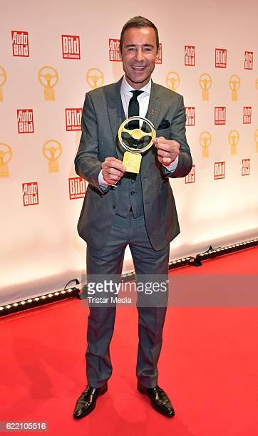 Kai Pflaume attend the 'Goldenes Lenkrad' Award at Axel Springer Haus on November 8 2016 in Berlin Germany