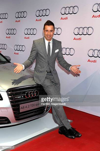 Kai Pflaume attends the Audi Night at Hotel 'Zur Tenne' on January 22 2010 in Kitzbuehel Austria