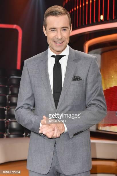 Kai Pflaume during the 'Klein gegen Gross' TV sShow on October 21 2018 in Berlin Germany
