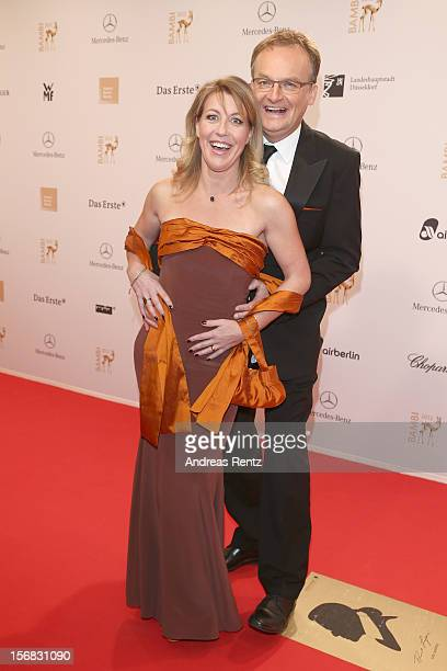 Kai Plasberg and Anne Gesthuysen attend 'BAMBI Awards 2012' at the Stadthalle Duesseldorf on November 22 2012 in Duesseldorf Germany