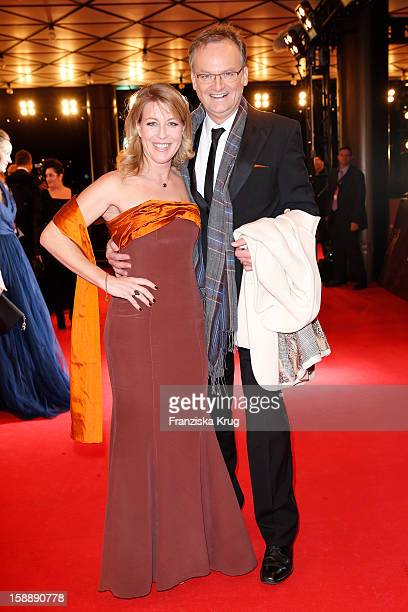 Kai Plasberg and Anne Gesthuysen attend the 'BAMBI Awards 2012' at the Stadthalle Duesseldorf on November 22 2012 in Duesseldorf Germany