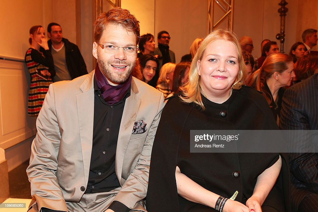 Kai Rose and and Ingrid Rose attends Basler Autumn/Winter 2013/14 fashion show during Mercedes-Benz Fashion Week Berlin at Hotel De Rome on January 16, 2013 in Berlin, Germany.