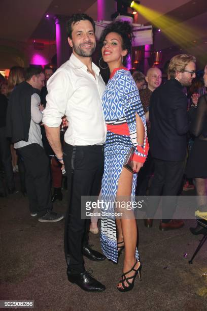 Kai Schumann and his wife Barbara Schumann during the BUNTE BMW Festival Night 2018 on the occasion of the 68th Berlinale International Film Festival...