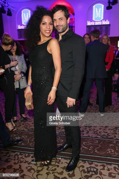 """Kai Schumann and his wife Barbara Schumann during the Movie Meets Media """"MMM"""" event on the occasion of the 68th Berlinale International Film Festival..."""