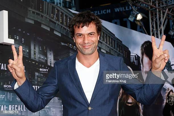 Kai Schumann attends the German premiere of 'Total Recall' at Sony Center on August 13, 2012 in Berlin, Germany.