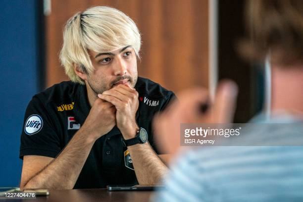 Kai Verbij of Jumbo Visma seen during a meeting with the press on May 27 2020 in Wolvega The Netherlands