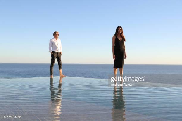 Kai Wiesinger and Bettina Zimmermann attend the reopening of ROBINSON Club Jandia Playa on December 04 2018 in Fuerteventura Spain