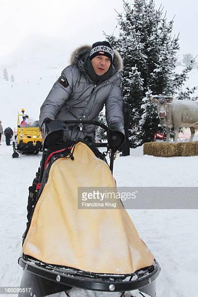 Kai Wiesinger Beim 2 Promi Schlittenhunderennen Tirol Cross Mountain In Kühtai