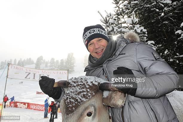 Kai Wiesinger Vor Dem 2 Promi Schlittenhunderennen Tirol Cross Mountain In Kühtai
