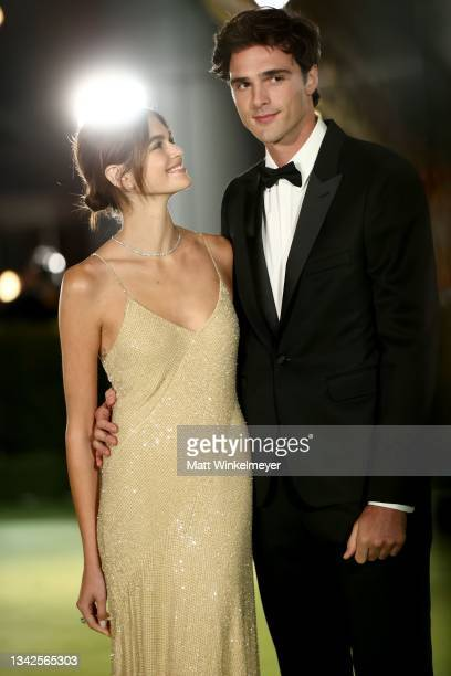 Kaia Gerber and Jacob Elordi attend The Academy Museum of Motion Pictures Opening Gala at The Academy Museum of Motion Pictures on September 25, 2021...