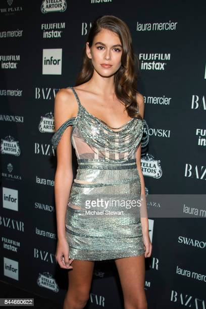 Kaia Gerber attends 2017 Harper's Bazaar Icons at The Plaza Hotel on September 8, 2017 in New York City.