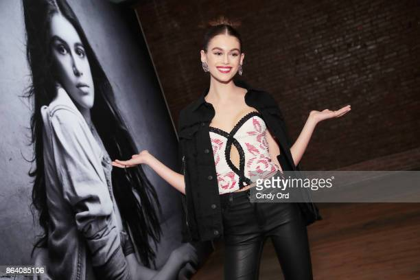Kaia Gerber attends Hudson Jean SS18 Preview Hosted by Kaia Gerber on October 20 2017 in New York City