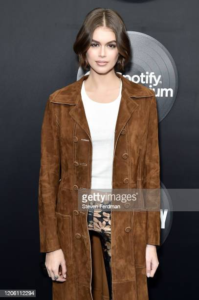 "Kaia Gerber attends Hulu's ""High Fidelity"" New York premiere at Metrograph on February 13, 2020 in New York City."
