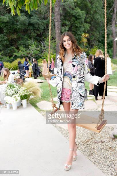 Kaia Gerber attends Marc Jacobs Fragrances and Kaia Gerber Celebrate DAISY on May 9 2017 in Beverly Hills California