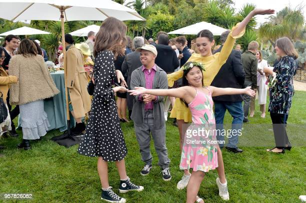 Kaia Gerber Charlotte Lawrence and guest attend 2018 Best Buddies Mother's Day Brunch Hosted by Vanessa Gina Hudgens on May 12 2018 in Malibu...