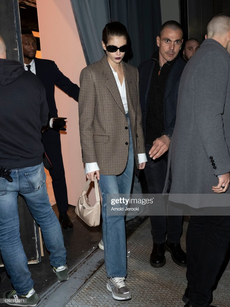 Celebrity Sightings: February 20th - Milan Fashion Week Fall/Winter 2020-2021 : Foto di attualità