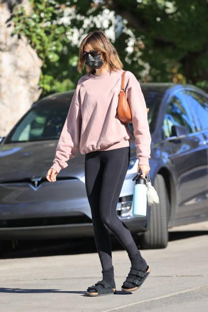 CA: Celebrity Sightings In Los Angeles - February 23, 2021