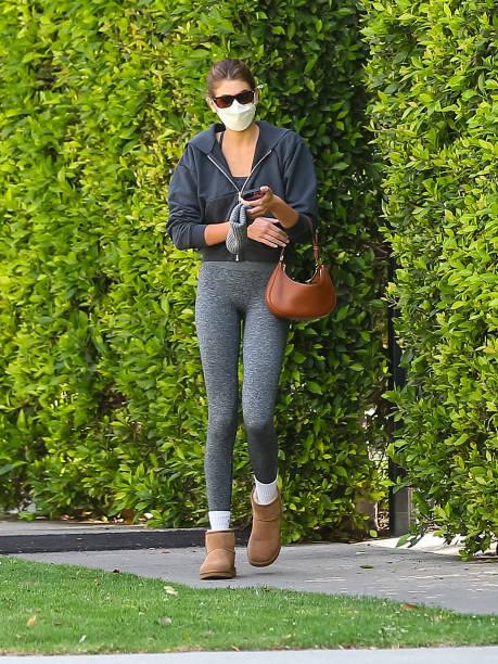 CA: Celebrity Sightings In Los Angeles - April 27, 2021