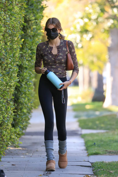 CA: Celebrity Sightings In Los Angeles - February 27, 2021