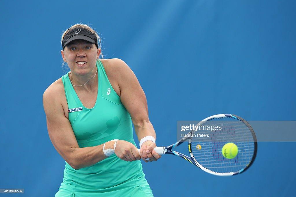 2015 Australian Open - Day 2 : News Photo