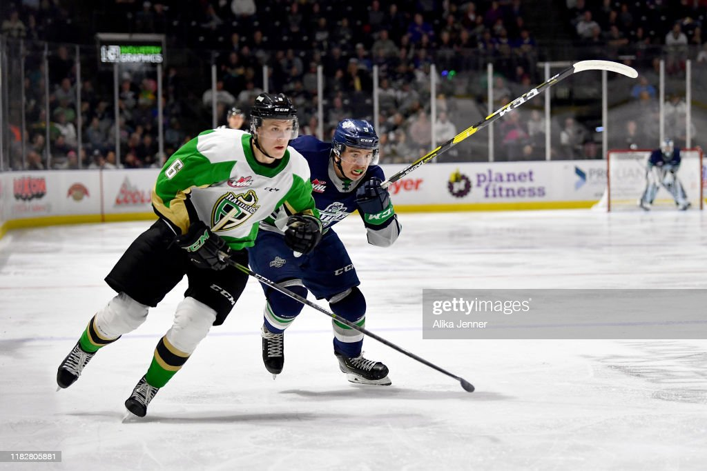 Prince Albert Raiders v Seattle Thunderbirds : News Photo