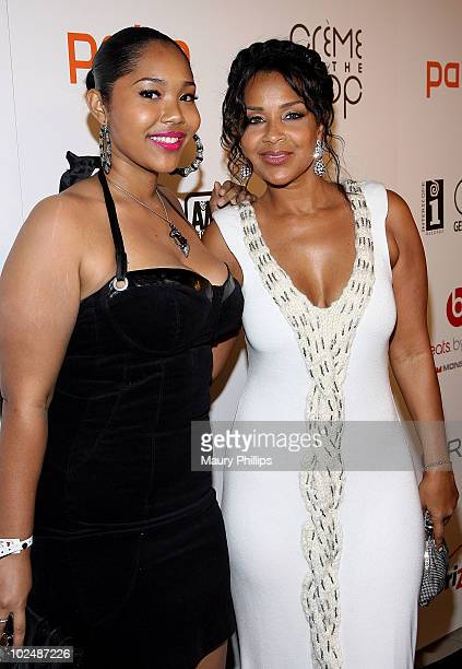 Kaienja �Kai� Pace and LisaRaye McCoy arrive at The 4th Annual Creme Of The Crop Post BET Awards Dinner Celebration at Mr Chow on June 27 2010 in...