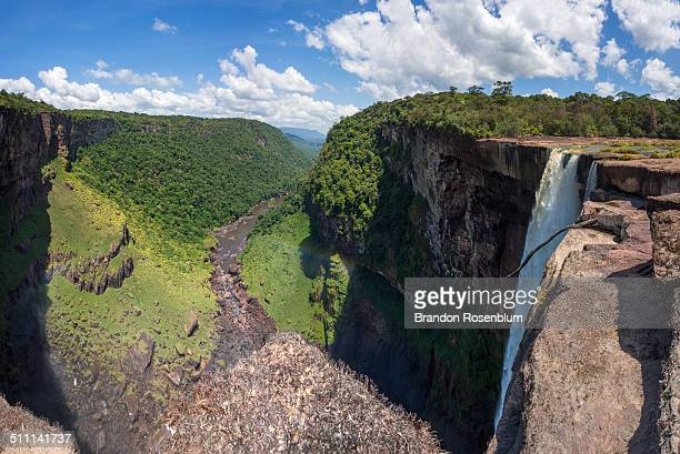 kaieteur falls - guyana stock pictures, royalty-free photos & images
