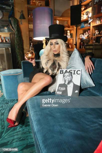Kaila Methven attends Basic Magazine and HER PreGrammy Party at the Private Residence of the CEO of Absolut Elyx on February 8 2019 in Los Angeles...