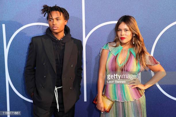 Kailand Morris and Tomeeka Robyn Bracy attend the LA Premiere of HBO's Euphoria at The Cinerama Dome on June 04 2019 in Los Angeles California